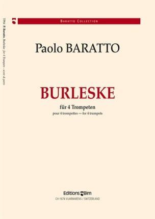 Paolo Baratto - Burleske - Partition - di-arezzo.fr