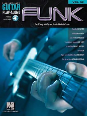 Guitar Play-Along Volume 52 - Funk Partition Guitare - laflutedepan