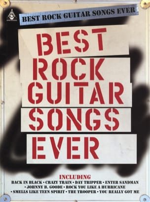 - Best Rock Guitar Songs Ever - Partition - di-arezzo.fr
