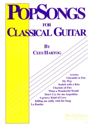Pop-Songs For Classical Guitar - Volume 1 - laflutedepan.com