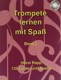 Horst Rapp - Trompete Lernen mit Spass Band 2 - Partitura - di-arezzo.it
