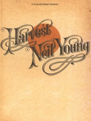 Harvest Neil Young Partition Pop / Rock - laflutedepan