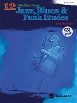12 Medium-Easy Jazz, Blues & Funk Etudes - laflutedepan.com