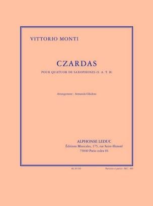 Czardas - Vittorio Monti - Partition - Saxophone - laflutedepan.com