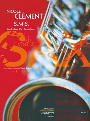 S.M.S. - Nicole Clément - Partition - Saxophone - laflutedepan.com