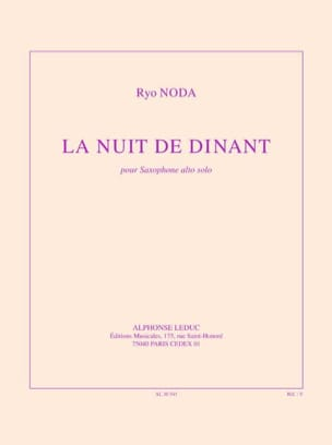 Ryo Noda - La Nuit de Dinant - Partition - di-arezzo.fr