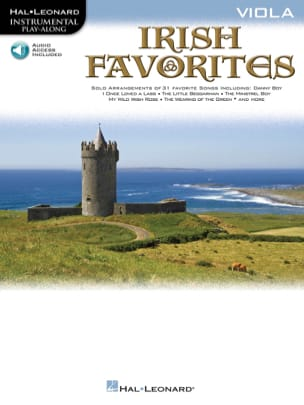 Irish favorites - Instrumental play-along Partition laflutedepan