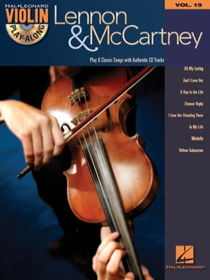 Violin play-along volume 19 - Lennon & McCartney laflutedepan