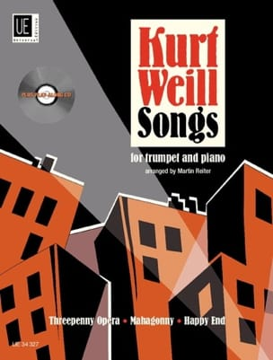 Songs - WEILL - Partition - Trompette - laflutedepan.com
