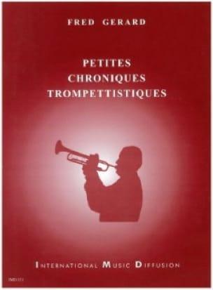Petites Chroniques Trompettistiques Fred Gérard Partition laflutedepan