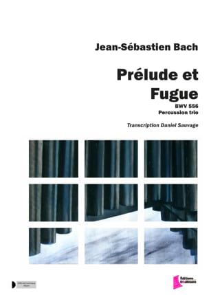 BACH - Prélude et Fugue BWV 556 - Partition - di-arezzo.fr