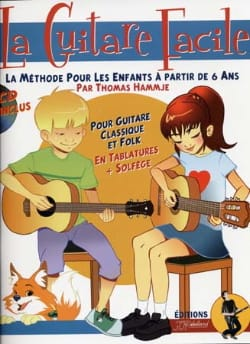 Thomas HAMMJE et Jean-Jacques REBILLARD - The easy guitar - Sheet Music - di-arezzo.co.uk