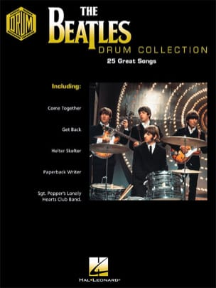 The Beatles Drum Collection BEATLES Partition Batterie - laflutedepan