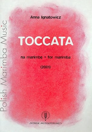 Anna Ignatowicz - Toccata - Sheet Music - di-arezzo.co.uk