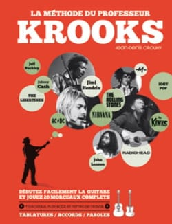 La Méthode du Professeur Krooks Partition Guitare - laflutedepan