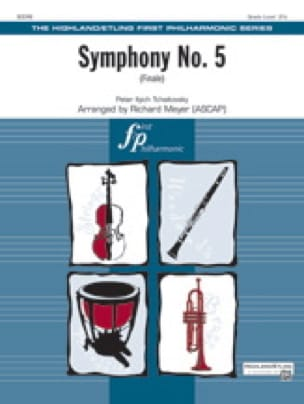TCHAIKOVSKY - Symphonie N° 5 - Finale - Partition - di-arezzo.fr