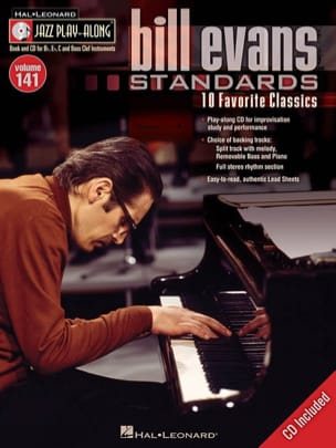 Bill Evans - Jazz play-along volume 141 - Bill Evans - Partition - di-arezzo.co.uk