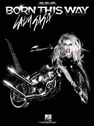 Born This Way Lady Gaga Partition Pop / Rock - laflutedepan