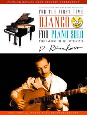 Django for Piano Solo Django Reinhardt Partition Jazz - laflutedepan