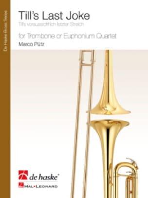 Till's Last Joke Marco Pütz Partition Trombone - laflutedepan