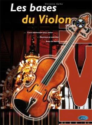 Christine Galka - Les Bases du Violon - Partition - di-arezzo.fr