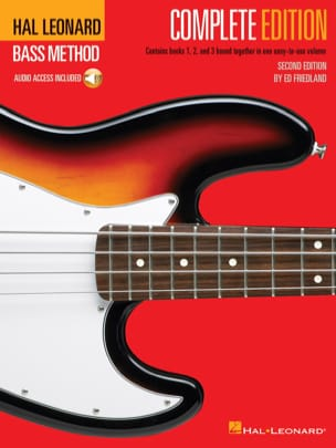 Ed Friedland - Hal Leonard Bass Method - Complete Edition (Second Edition) avec 3 CD - Partition - di-arezzo.fr