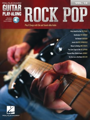 Guitar Play-Along Volume 12 - Rock Pop Partition laflutedepan