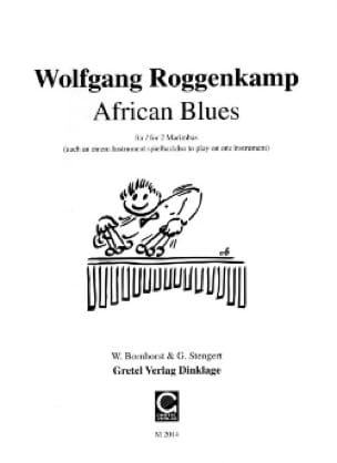 African Blues - Wolfgang Roggenkamp - Partition - laflutedepan.com