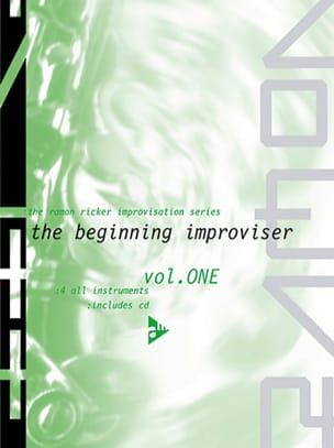 Ramon Ricker - Volume 1 - The Beginning Improviser - Sheet Music - di-arezzo.co.uk