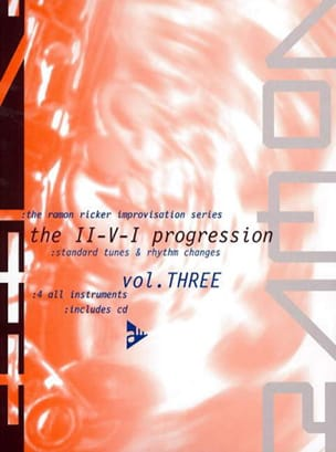 Ramon Ricker - Volume 3 - The II-VI Progression, Rhythm Changes and Standard Tunes - Sheet Music - di-arezzo.com