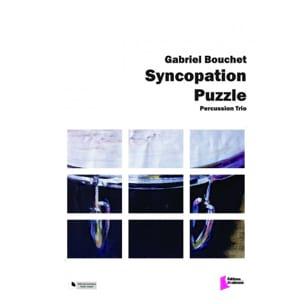 Syncopation Puzzle - Gabriel Bouchet - Partition - laflutedepan.com