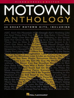 - Motown anthology - 68 Great motown hits - Sheet Music - di-arezzo.com