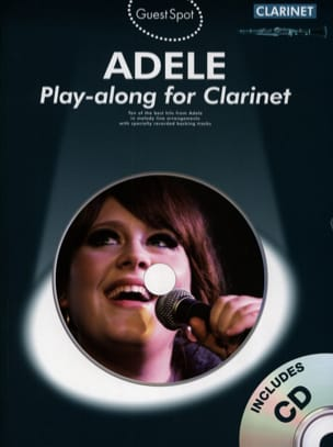 Adele - Guest Spot - Adele Play-Along for Clarinet - Sheet Music - di-arezzo.com