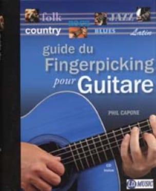Phil Capone - Fingerpicking Guide For Guitar - Sheet Music - di-arezzo.com