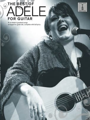 Adele - The best of Adele for Guitar - Partition - di-arezzo.fr