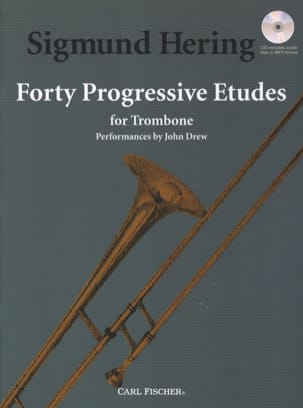 Sigmund Hering - 40 Progressive Studies for Trombone - Sheet Music - di-arezzo.co.uk