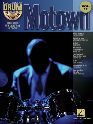 - Drum play-along volume 18 - Motown - Partition - di-arezzo.fr