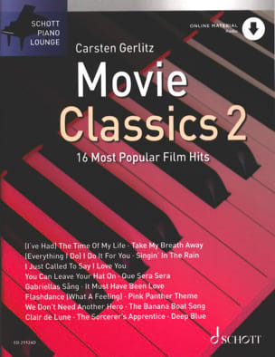 Movie Classics 2 - 16 Most Popular Fim Hits - Partition - di-arezzo.fr