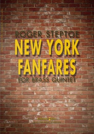 New York Fanfares - Roger Steptoe - Partition - laflutedepan.com