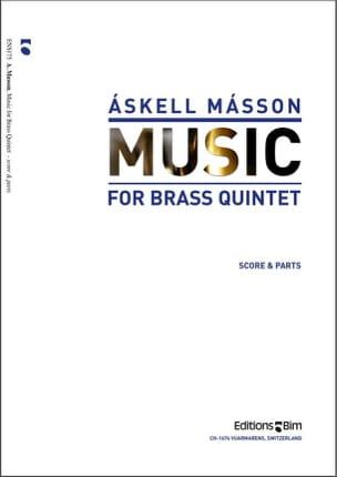 Askell Masson - Music - Partition - di-arezzo.fr