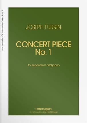 Concert Piece N° 1 Joseph Turrin Partition Tuba - laflutedepan