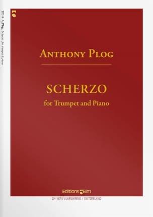 Anthony Plog - Scherzo - Partition - di-arezzo.fr