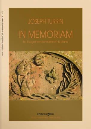 Joseph Turrin - In Memoriam - Partition - di-arezzo.fr