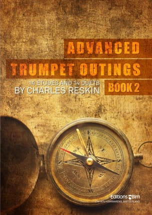 Advanced Trumpet Outings Book 2 Charles Reskin Partition laflutedepan