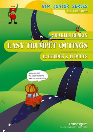 Easy Trumpet Outings - Charles Reskin - Partition - laflutedepan.com