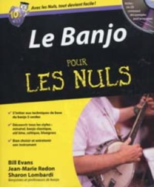 Evans Bill / Redon Jean-Marie / Lombardi Sharon - Le Banjo pour les Nuls - Livre - di-arezzo.fr