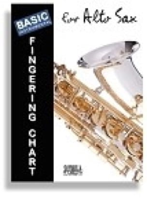 - Basic Fingering Chart for Alto Sax - Sheet Music - di-arezzo.com