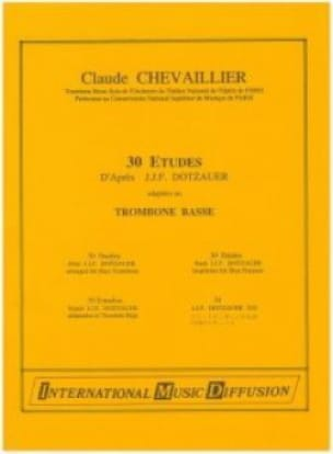Chevaillier Claude / Dotzauer J.J.F. - 30 Studies - Sheet Music - di-arezzo.co.uk