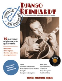 Django Reinhardt - Traveling in Guitar - Sheet Music - di-arezzo.com