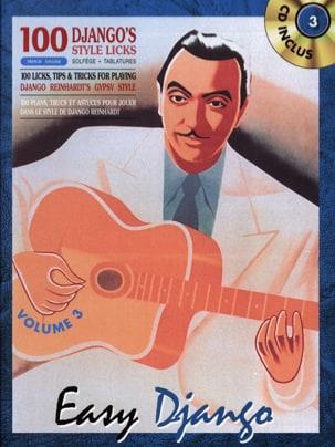 Easy Django Volume 3 - Django Reinhardt - Partition - laflutedepan.com